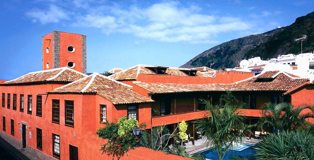Qui vous charmera avec sa façade atypique - Boutique-hôtel San Roque 4* - Adults Only Santa Cruz de Tenerife