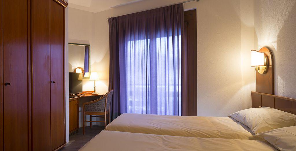2 à 7 nuits confortables en chambre classique...