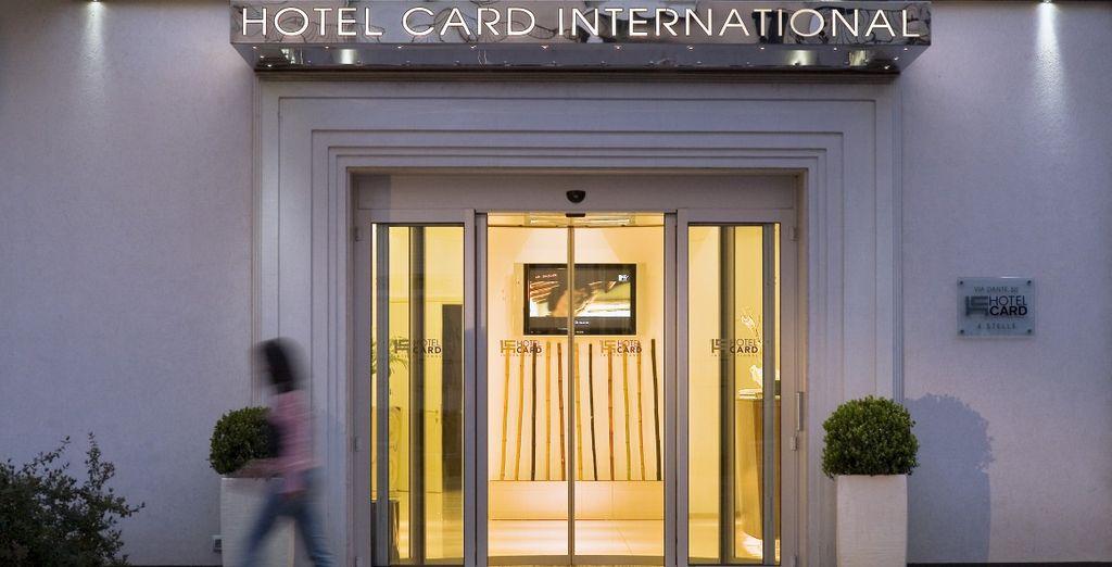 L'hôtel Card International vous accueille