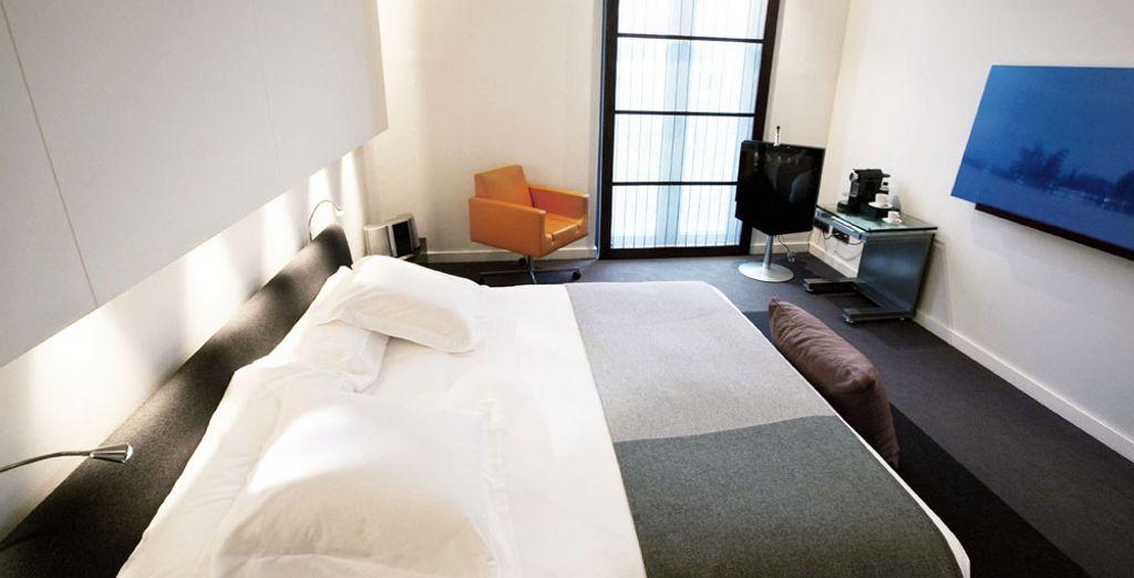 Où les chambres sont au service de votre confort