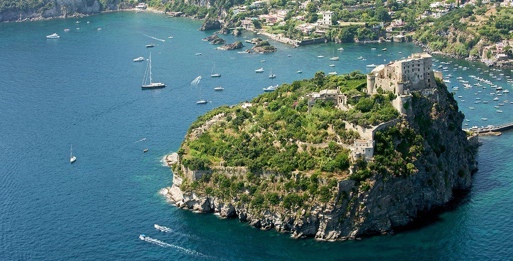 Sur l'île d'Ischia...
