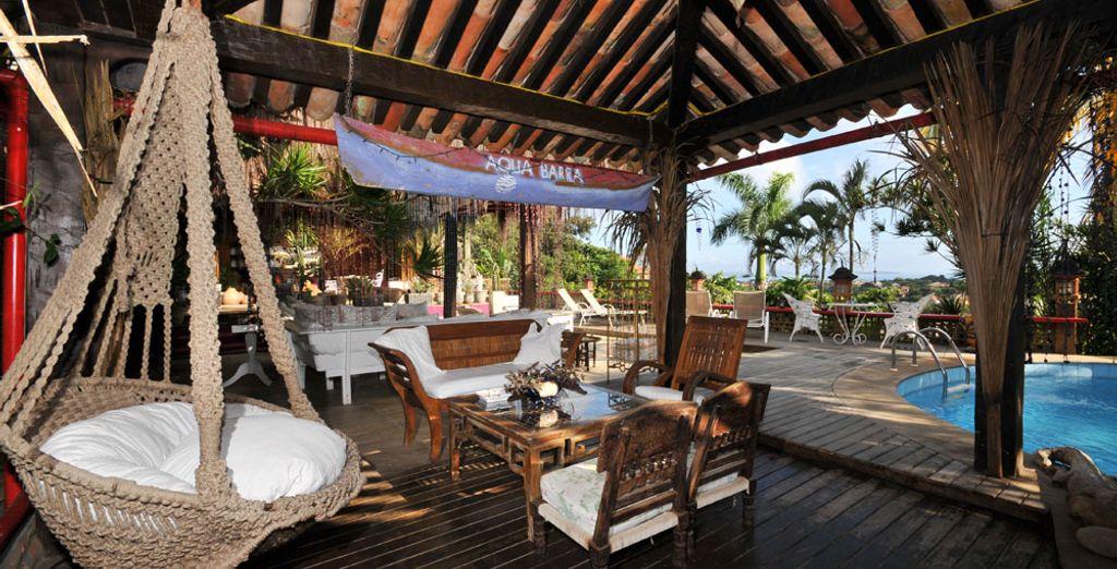 Prenez place à l'Aquabarra Boutique Hotel & Spa