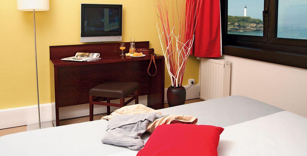 Installez-vous dans votre logement confortable...