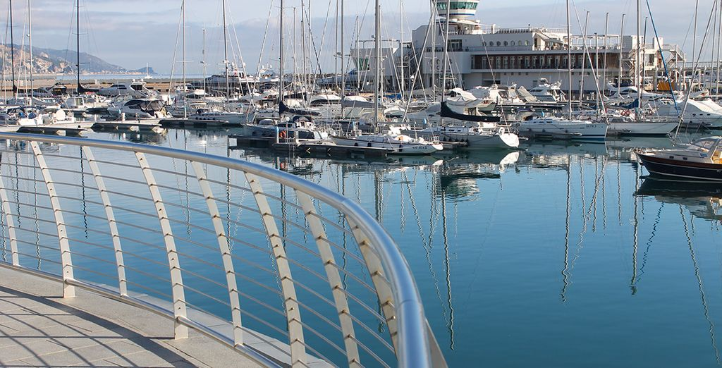 Du petit port de Loano...
