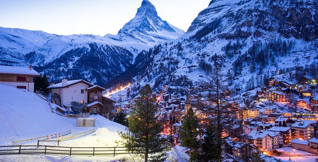 Partez pour la station de Breuil Cervinia, située à 200 mètres d'altitude dans la Vallée d'Aoste - Hôtel Europa 4*  Cervinia