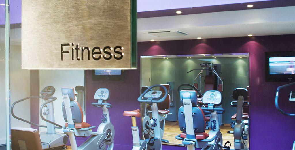 Ou dépensez-vous dans la salle de fitness...