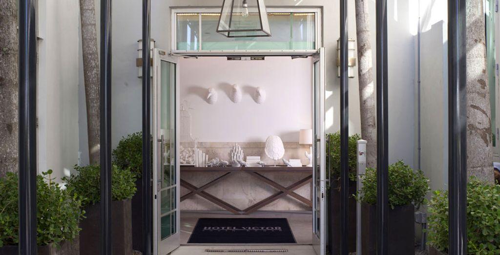 L'Hotel Victor South Beach vous ouvre ses portes
