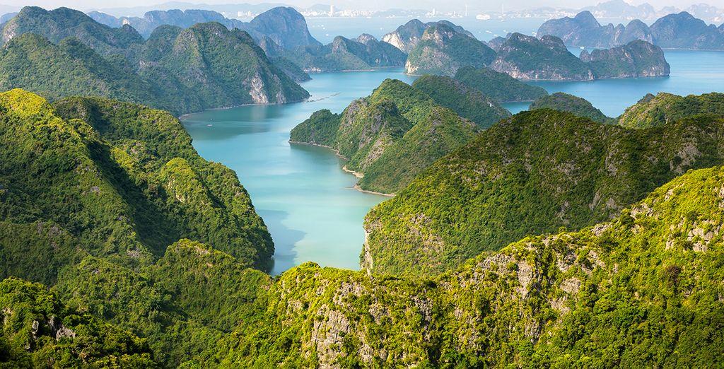 Avant de découvrir les lacs Ba Be habitées par les populations Tay...