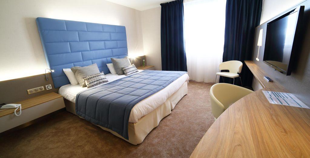 Pour un confort ultime, optez pour une chambre Supérieure Double