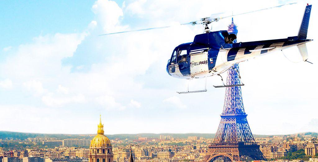 Découvrez Paris et ses monuments vus du ciel