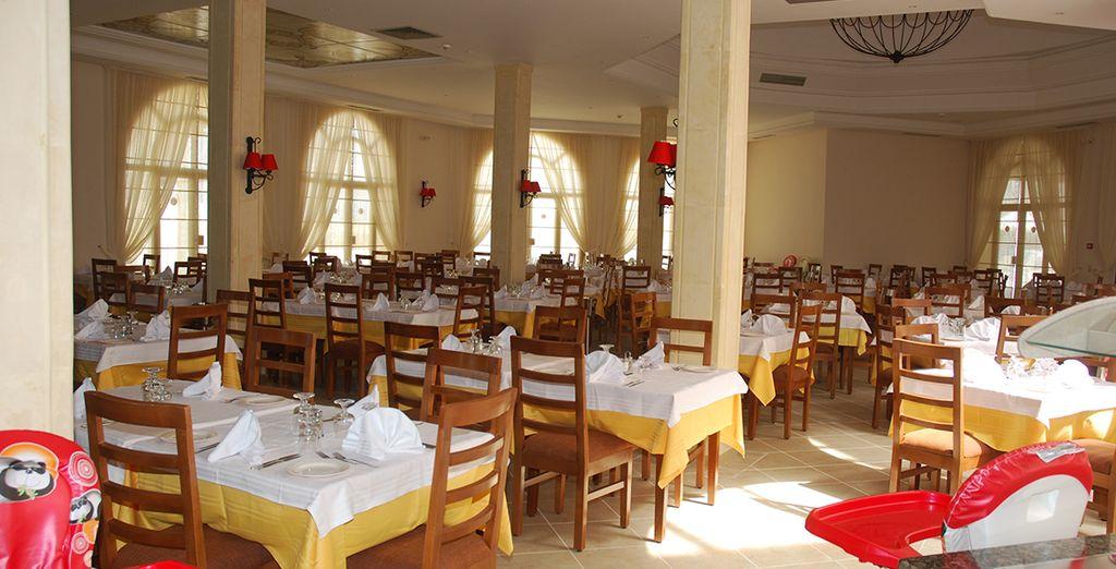 Au sein de l'hôtel vous aurez tout loisir de vous familiariser avec les spécialités culinaires locales