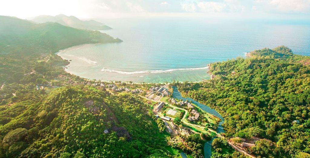 Et de découvrir les splendeurs des Seychelles