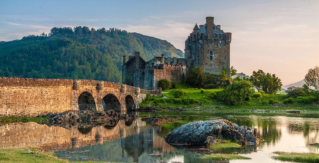 Monument emblématique d'Ecosse, le château d'Eilean Donan en est un joyau somptueux