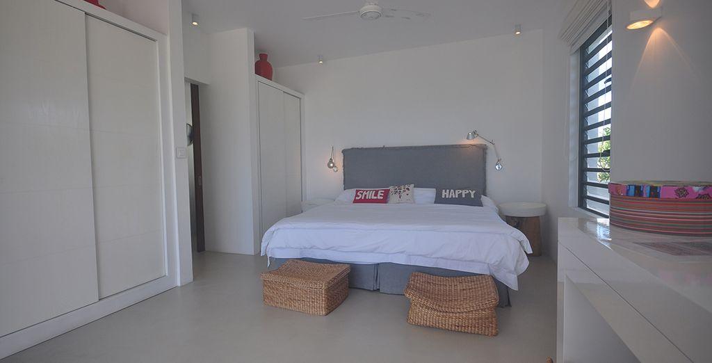 Des chambres des plus spacieuses