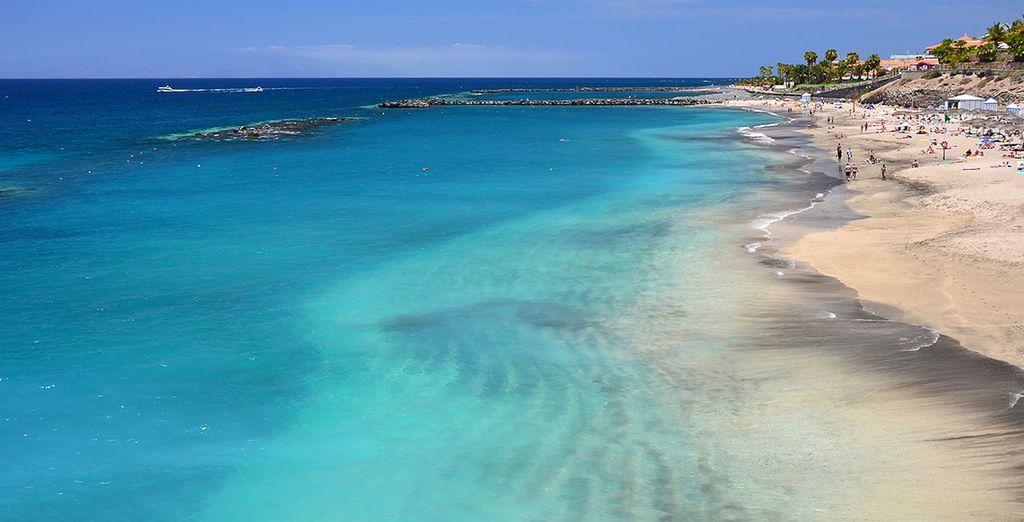 Situé face à la Playa del Duque