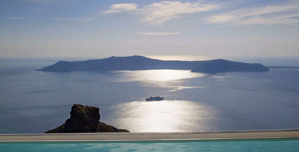 Et pourrez admirer ce paysage depuis la piscine extérieure !