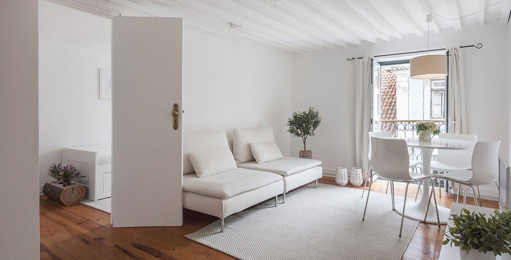 Un intérieur cosy et agréable - Appartement jusqu'à 4 personnes Lisbonne