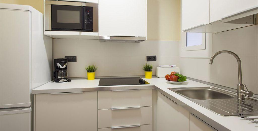 Appartement 5 : La cuisine