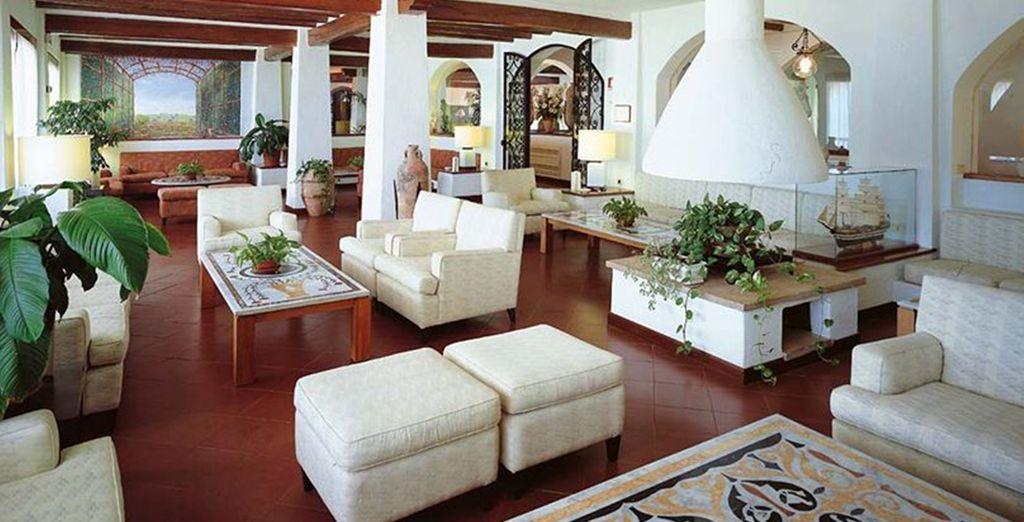 Il vous offre un cadre de séjour familial et confortable