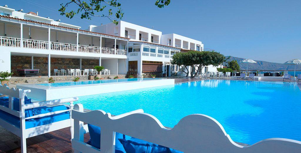 Ressourcez-vous le temps de vacances ensoleillées - Hôtel Elounda Ilion **** Elounda