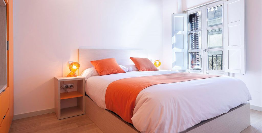 Appartement 3 : Une première chambre