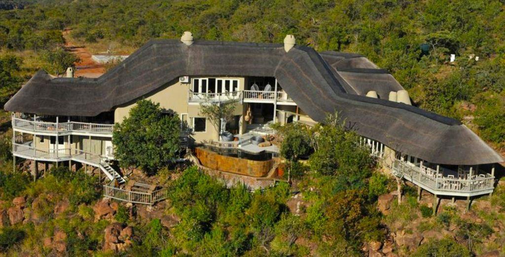 Le Clifftop Exclusive Hideaway vous ouvre ses porte dans le cadre privilégié d'une réserve privée.
