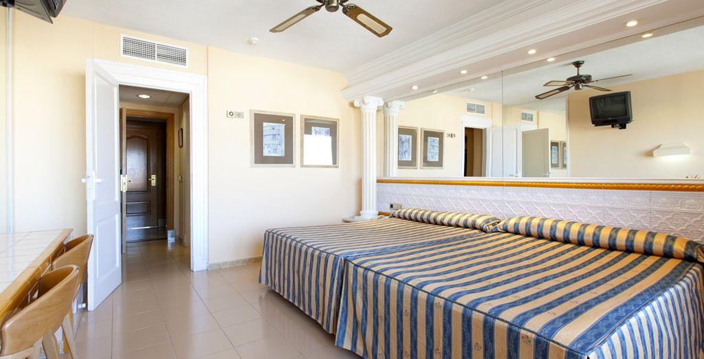 Vous séjournerez dans le cadre spacieux et confortable d'une chambre Standard