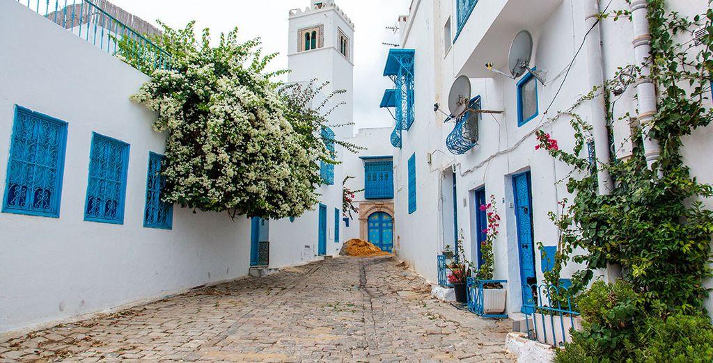 Profitez en pour visiter Hammamet, et arpenter ses ruelles colorées