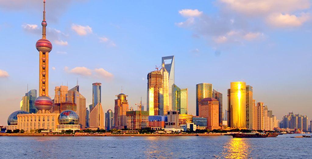 Panorama sur Shanghai - Hilton Shanghai ***** Shanghai