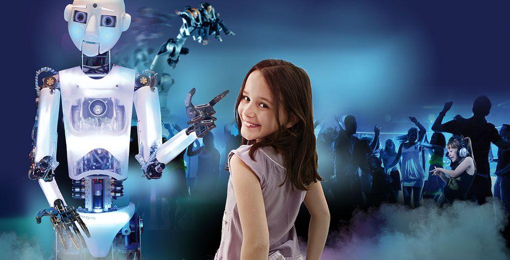 Avec des sensations fortes comme Danse avec les robots
