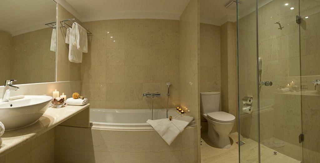 Profitez de sa luxueuse salle de bains