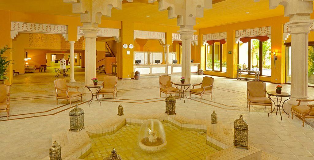 un hôtel au charme andalou