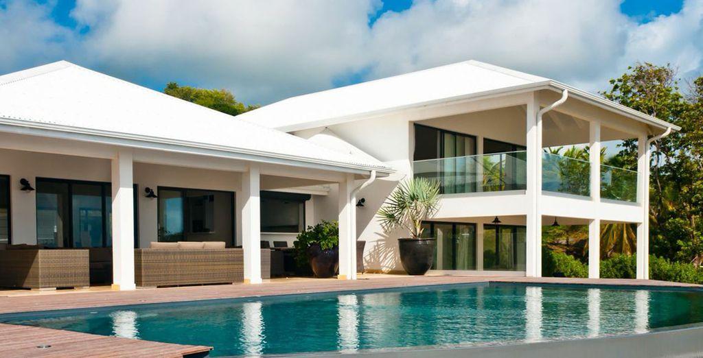 Poussez les portes de votre villa d'artiste de 600m² - Villa Ocean's House Le François