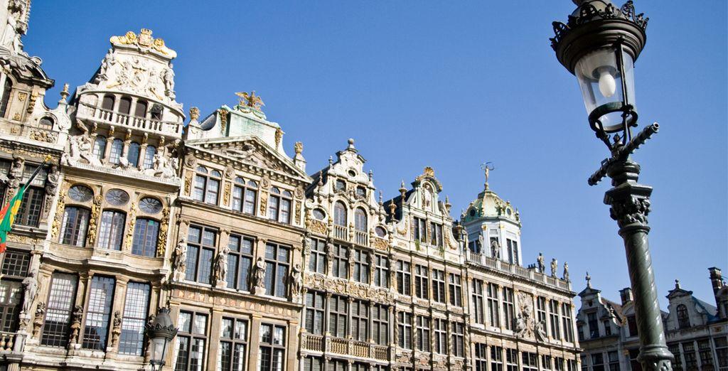 Découvrez Bruxelles et sa fameuse Grand Place