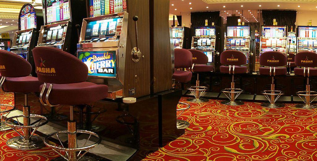 Appréciez les activités de l'hôtel, comme le casino