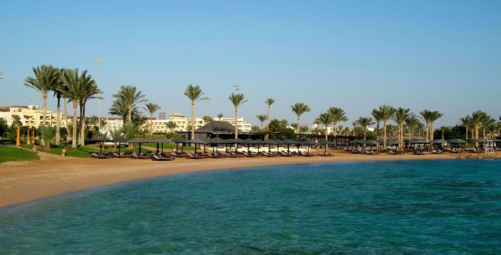 Qui dispose d'une plage privée...
