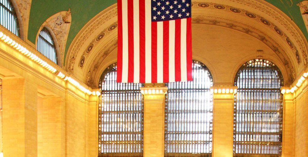 Avant de rejoindre Grand Central Station à deux pas de là