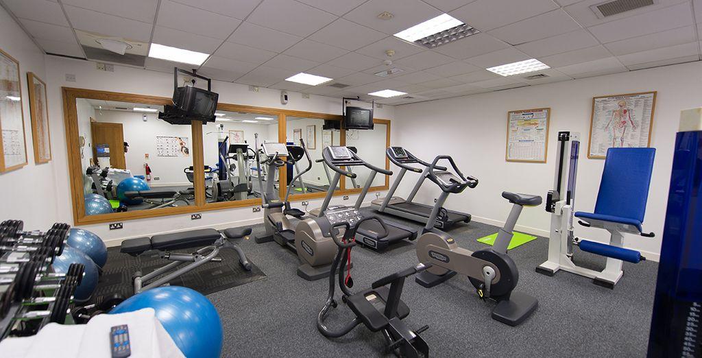 Vous pourrez garder la forme à l'espace gym de l'hôtel