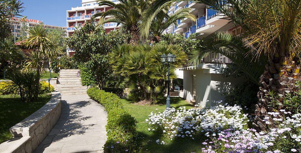 Hôtel haut de gamme en Espagne, à Lloret del Mar
