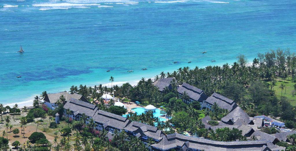Hôtel Southern Palms Beach Resort 4* & Safari à Tsavo East ou Amboseli
