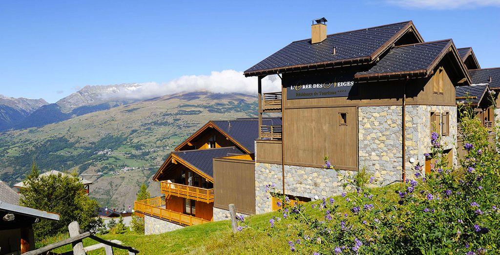C'est un écrin de verdure niché au coeur de la Savoie... - Résidence L'Orée des Neiges Peisey Vallandry