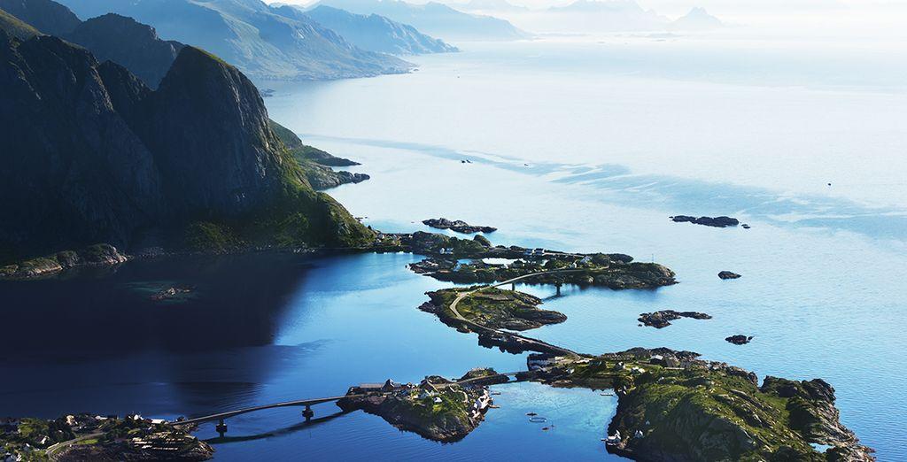 Les îles de Lofoten en Norvège