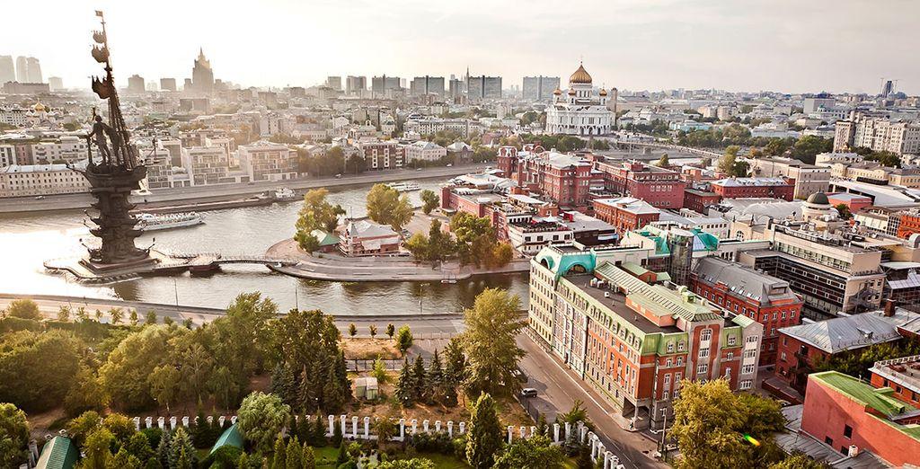 Quel que soit le choix de votre programme... De Moscou