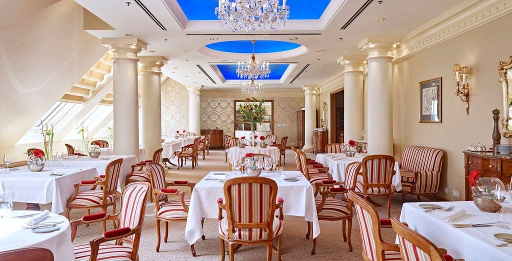 Offrez-vous les délices du restaurant étoilé Le Ciel