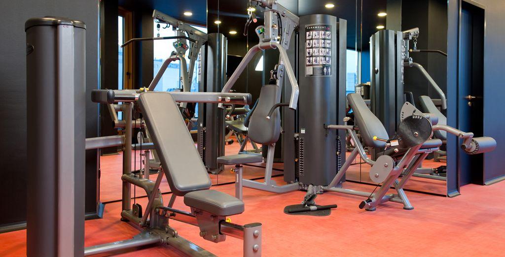Vous apprécierez la salle de fitness et les nombreuses prestations de standing de l'hôtel