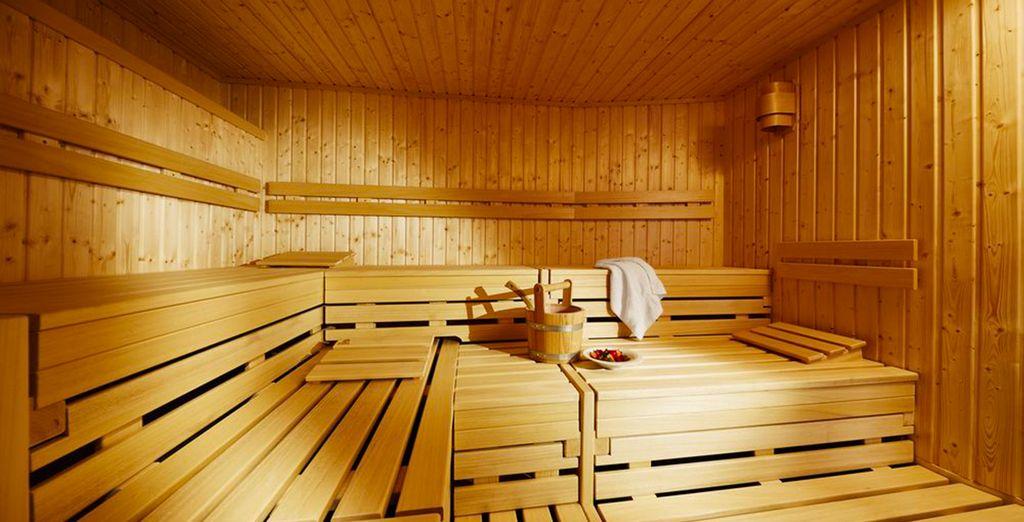 ou de délasser vos muscles au sauna...