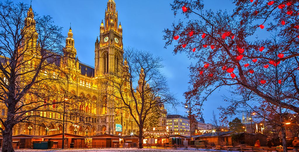Envolez-vous pour la magie de Vienne !