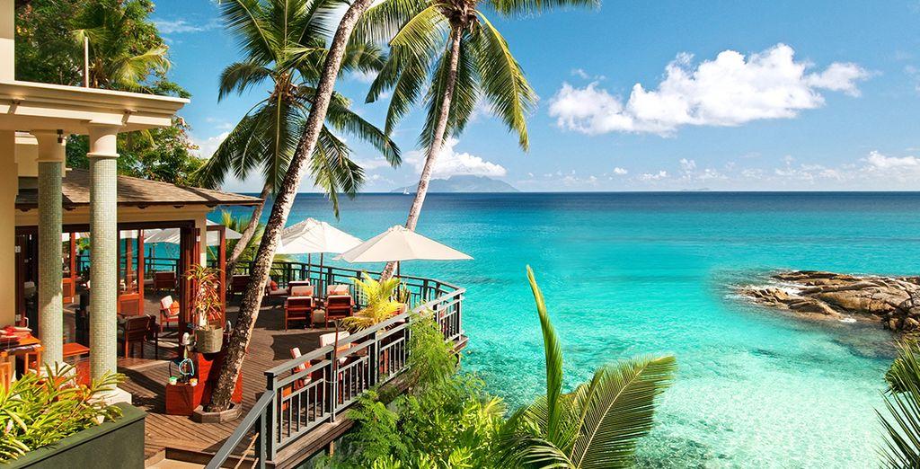 Ou en admirant la magnifique vue de l'hôtel Hilton Northolme Resort & Spa 5*