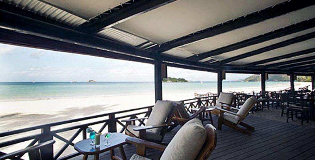 Une pause gourmande au restaurant de la plage