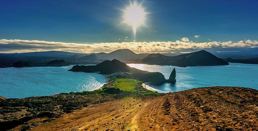 Vous passerez aussi par les îles Galapagos
